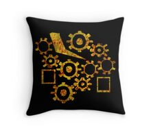 In The Gears Throw Pillow