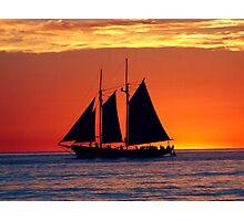 Smooth Seas Photographic Print