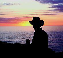 Sunset Cowboy by Gavin Reddrop