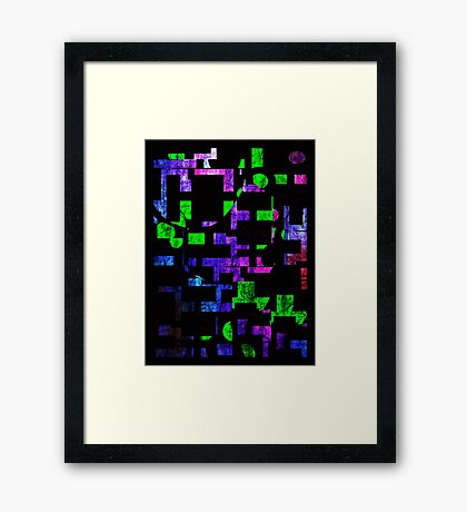 1985-  Night Drive Framed Print