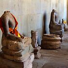Hall of a Thousand Buddhas, Angkor Wat, Cambodia by Hannah Nicholas