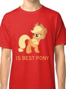 Applejack Is Best Pony - MLP FiM - Brony Classic T-Shirt