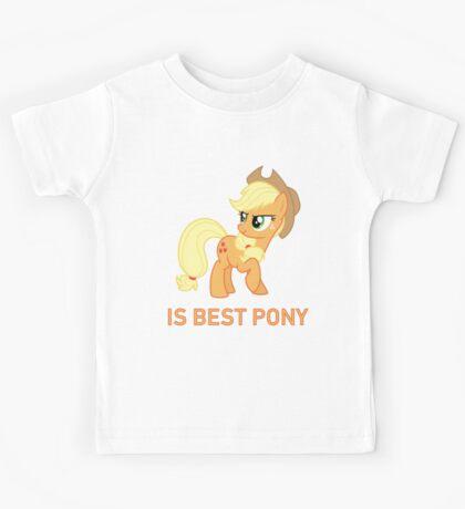 Applejack Is Best Pony - MLP FiM - Brony Kids Tee