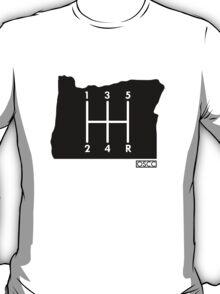 OREGON state car club T-Shirt