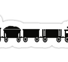 Train Tee Sticker