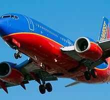 Southwest Airlines 737 by gfydad