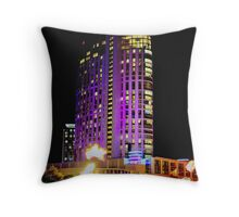 Crown Casino Hotel, Southbank, Melbourne Throw Pillow