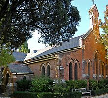 St.Judes Church, Bowral by George Petrovsky