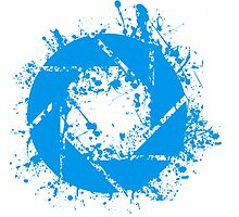 Portal Aperture Science Splatter Logo by Dr4Cu74
