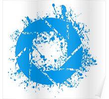 Portal Aperture Science Splatter Logo Poster