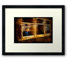 Journeys through windows of opportunity Framed Print