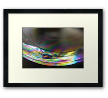 Colors of balloon surface Framed Print
