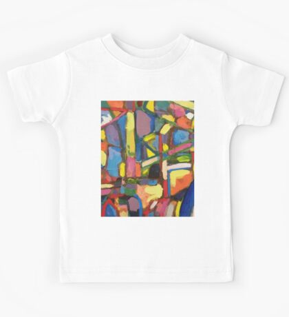 Colorful, Beautiful, Stunning, painting Kids Tee