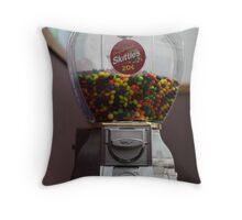 Skittles Throw Pillow