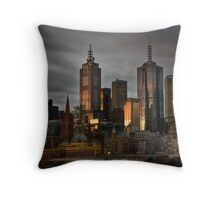 And then comes night Throw Pillow