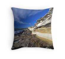 Nature's Sculpture, Maroubra NSW Throw Pillow