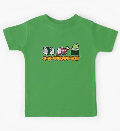 Super Mario Bros Sushi Kids Tee