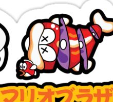 Super Mario Bros Sushi Sticker