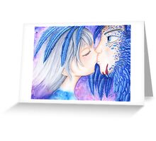Howl and Sophie Greeting Card