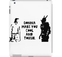 Cool and Tough iPad Case/Skin