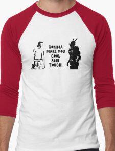 Cool and Tough Men's Baseball ¾ T-Shirt