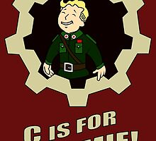 C is for Commie by Gevork Sherbetchyan