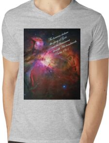 The Orion Nebula Declares! Mens V-Neck T-Shirt
