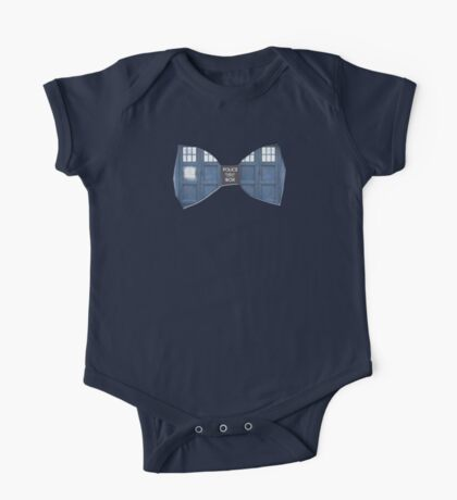 """Bow Ties ARE Cool."" - Dr. Who (Bow tie image only) One Piece - Short Sleeve"