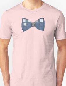 """""""Bow Ties ARE Cool."""" - Dr. Who (Bow tie image only) T-Shirt"""