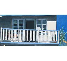 The Verandah - acrylic on canvas Photographic Print