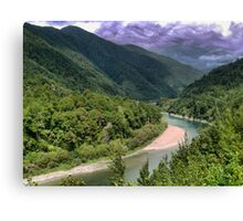 Looking for Frodo in the Otaki Gorge. Canvas Print