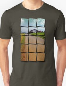 Country road into vibrant scenery | landscape photography Unisex T-Shirt