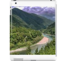 Looking for Frodo in the Otaki Gorge. iPad Case/Skin