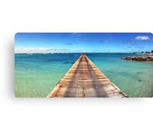 Beachport Jetty Panorama Canvas Print