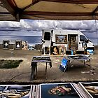 Merchant by the seaside... by Paul Louis Villani
