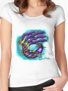Giratina - Pokemon Platinum Legendary  Women's Fitted Scoop T-Shirt