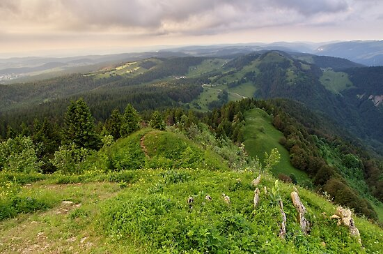 View from Chalam mountain by Patrick Morand