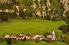 Bouchoux village in Haut Jura Natural Park by Patrick Morand