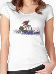 CADEL, LE TOUR DE FRANCE Women's Fitted Scoop T-Shirt