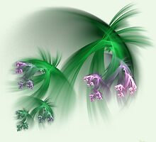 Grass flowers by Dorothy Venter