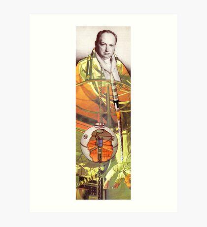 M Blackwell - Modern Breakthroughs in Science... Art Print