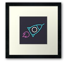 Rocket Scientist Framed Print