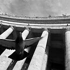 In flight - Vatican City by Paul Louis Villani