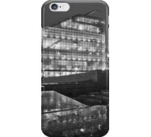 Rainy night in Manchester iPhone Case/Skin