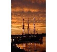 alma doepel sunset Photographic Print