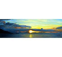 oz sunset Photographic Print