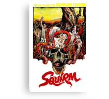 SQUIRM '76 Canvas Print