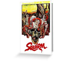 SQUIRM '76 Greeting Card