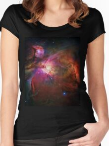 Orion Nebula Women's Fitted Scoop T-Shirt