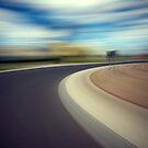 Driving at speed by John Jovic